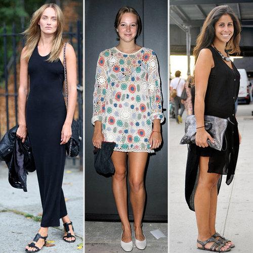 Dresses + Flats