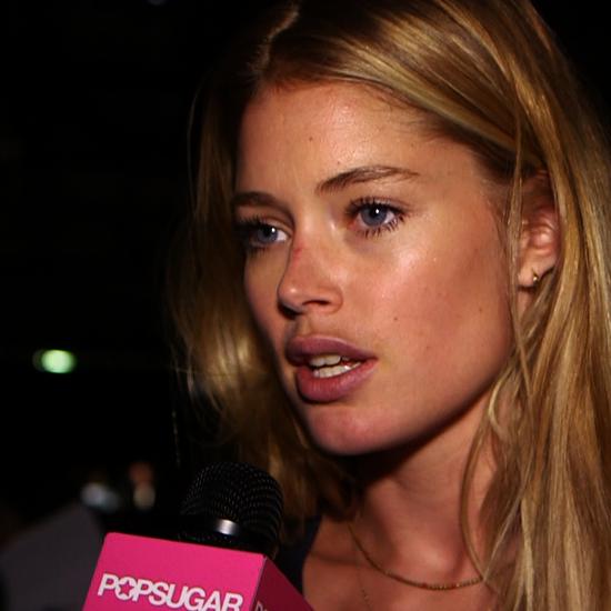 Doutzen Kroes Fashion Week Interview (Video)