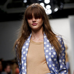 Karen Walker's Hair and Makeup Look for Spring Summer 2013 New York Fashion Week