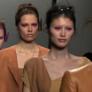 Donna Karan Spring 2013 Runway | Video