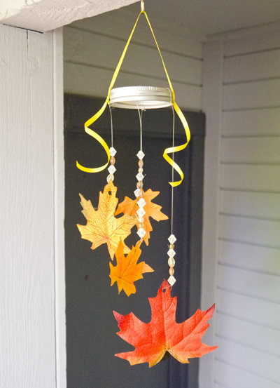 Fall Leaf Mobile