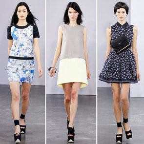 Pictures and Review of Victoria Victoria Beckham Spring 2013 New York Fashion Week Runway Show