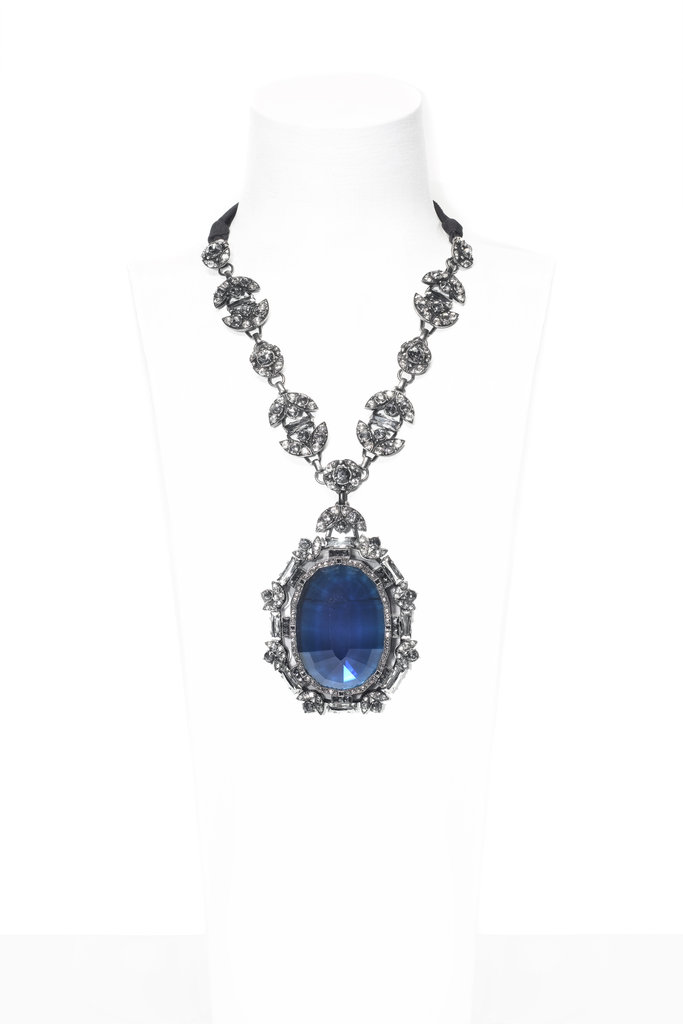 This Barbara pendant necklace ($2,285) is the most gorgeous shade of blue.