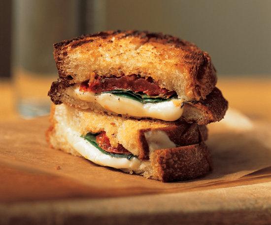 Mozzarella and Tomato Panini | 20 Hearty Family Dinner Ideas For Fall ...