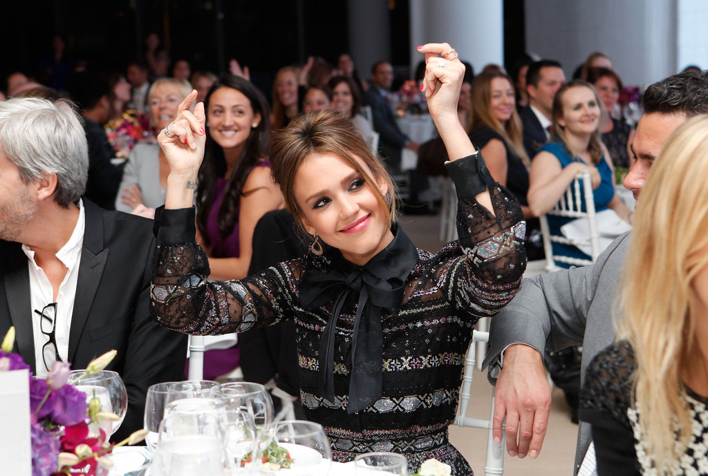 Jessica Alba attended the Self magazine Women Doing Good Awards in NYC.