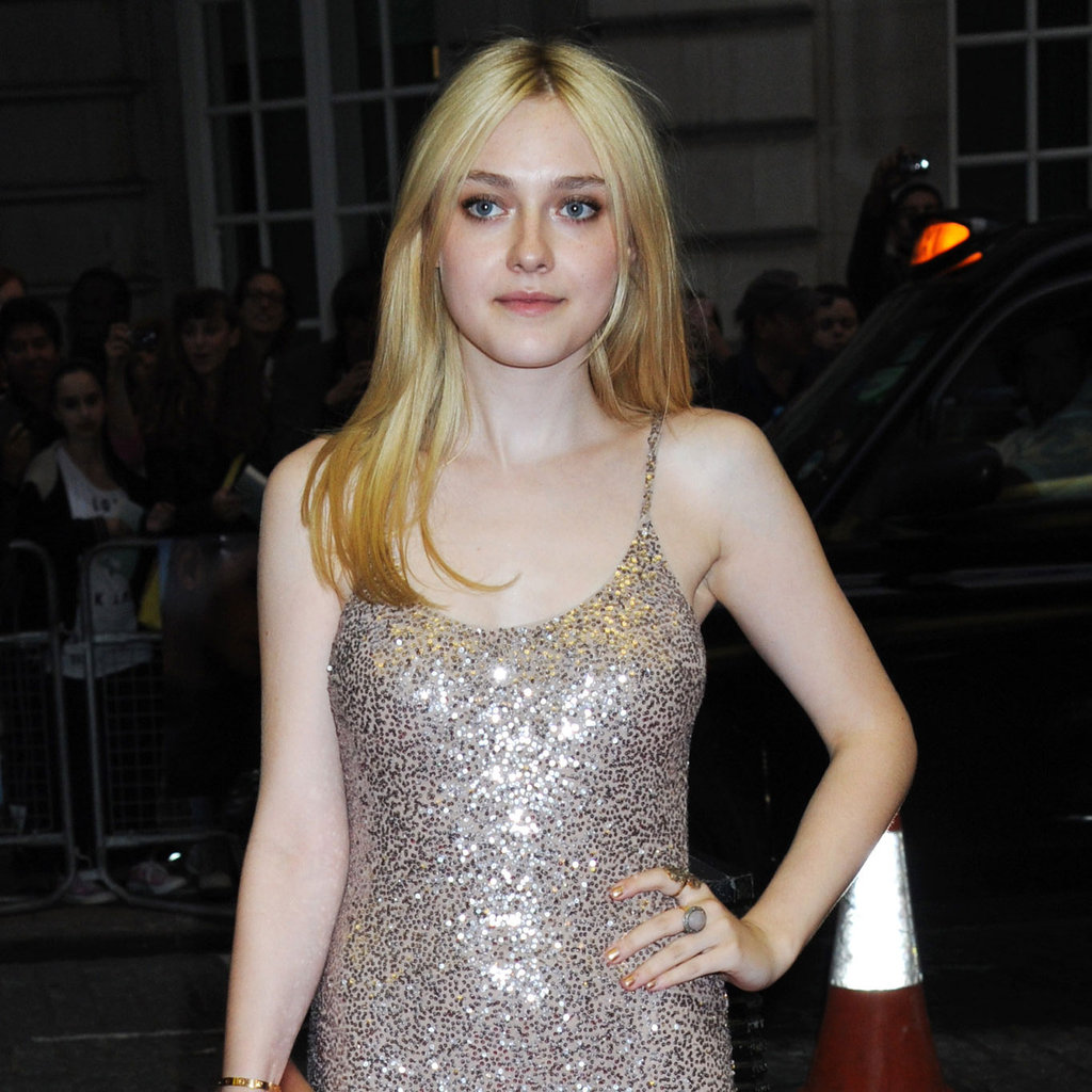 Dakota Fanning Wearing Stella