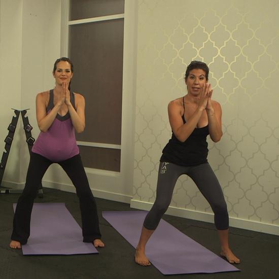 10-Minute Prenatal Yoga Stretch Series