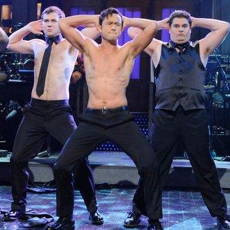Joseph Gordon-Levitt Magic Mike Stripping Dance Moves Video on SNL