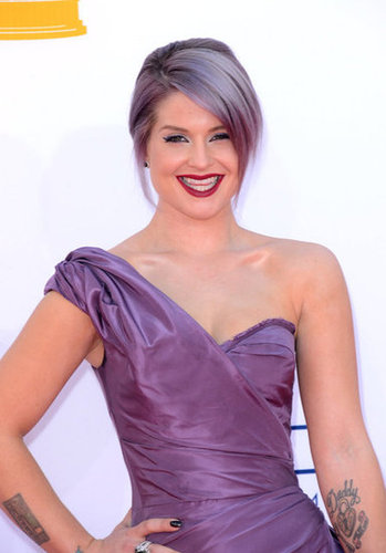 Kelly Osbourne was all smiles.