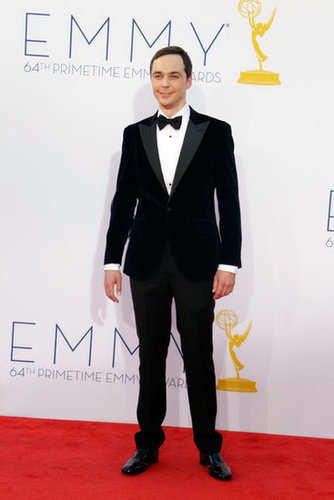 Jim Parsons looked handsome in a tux.