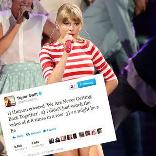 Celebrity Tweets Of The Week: Alexa Chung, Taylor Swift, Benji Madden & More