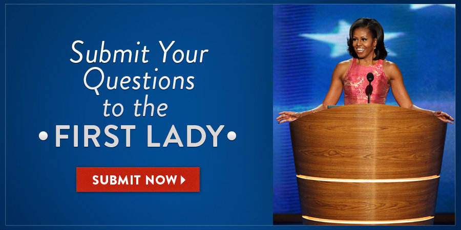 Michelle Obama Answers Your Questions on PopSugar —Ask Away!