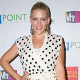 Busy Philipps in Polka Dots and Jimmy Choos