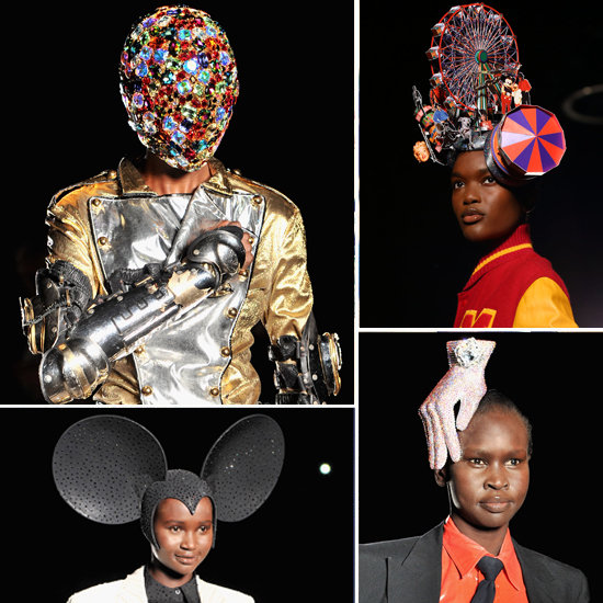 Philip Treacy Michael Jackson Hats at London Fashion Week