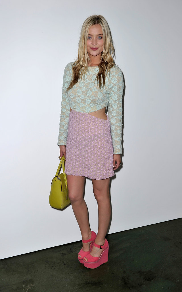Laura Whitmore at House of Holland