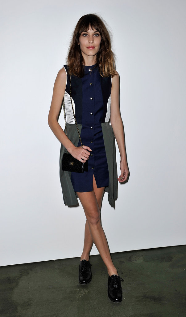 Alexa Chung at House of Holland