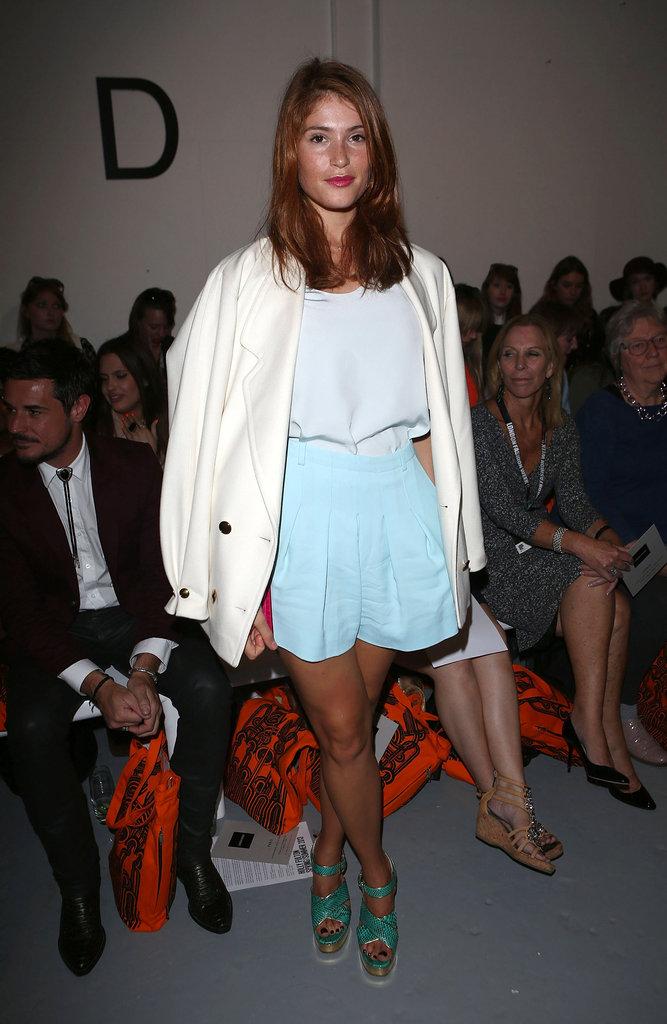 Gemma Arterton at Holly Fulton
