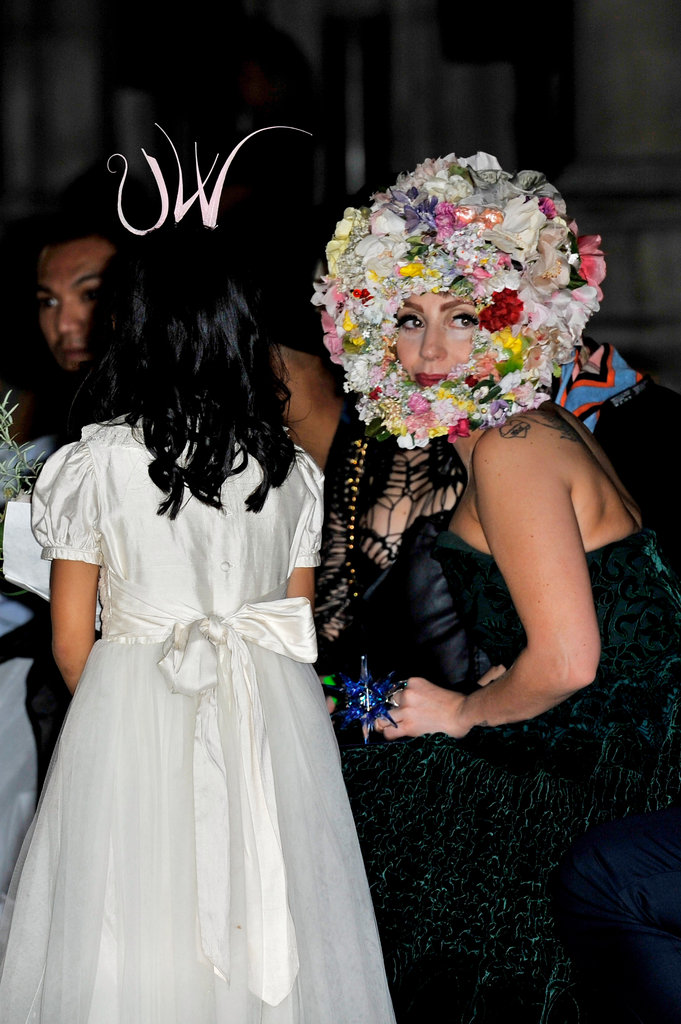 Lady Gaga at Philip Treacy