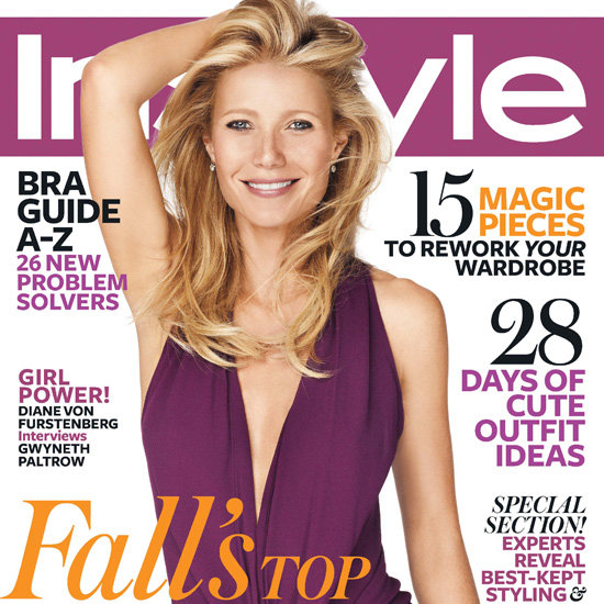 Gwyneth Paltrow Covers October 2012 InStyle