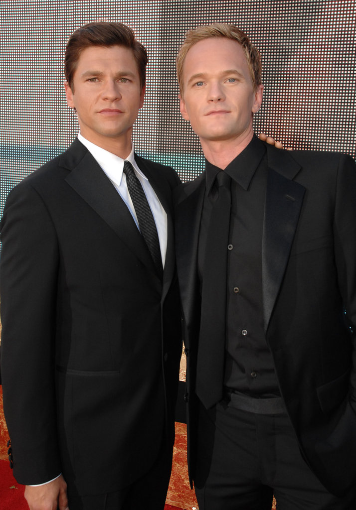 HIMYM's Neil Patrick Harris was accompanied by David Burtka in 2007.