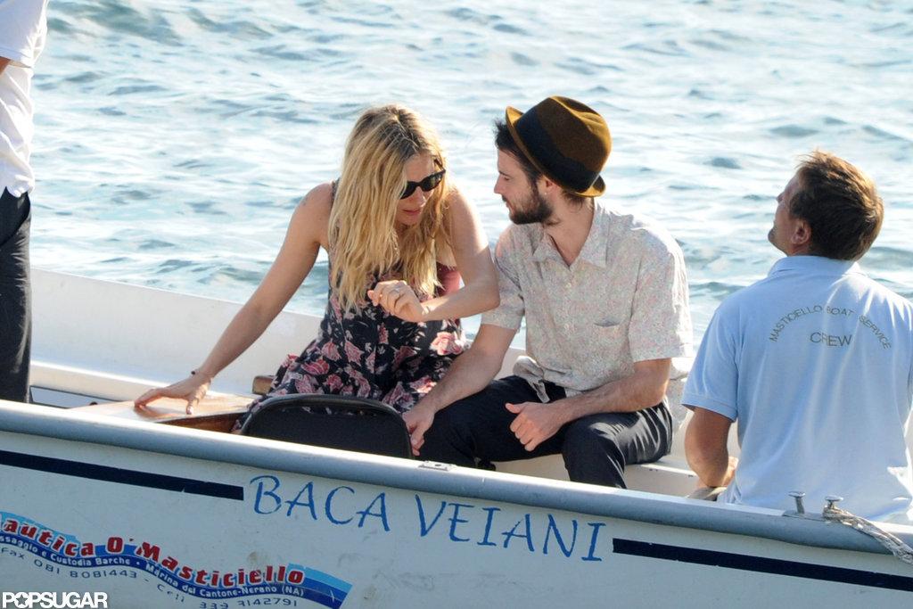 Sienna Miller and Tom Sturridge took a trip to Positano.