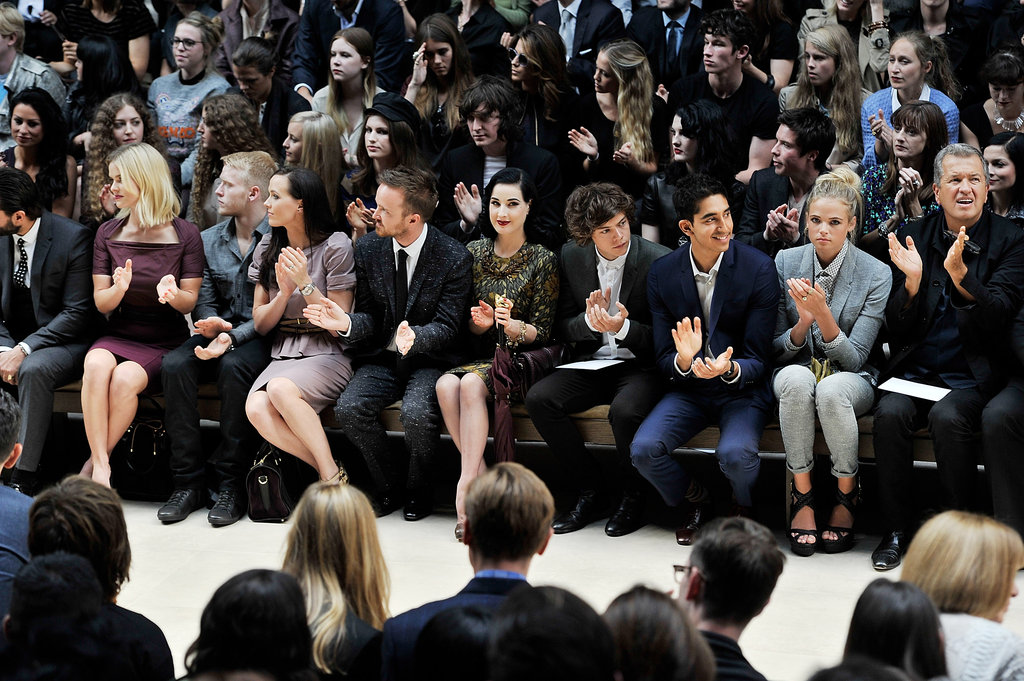 Burberry Front Row
