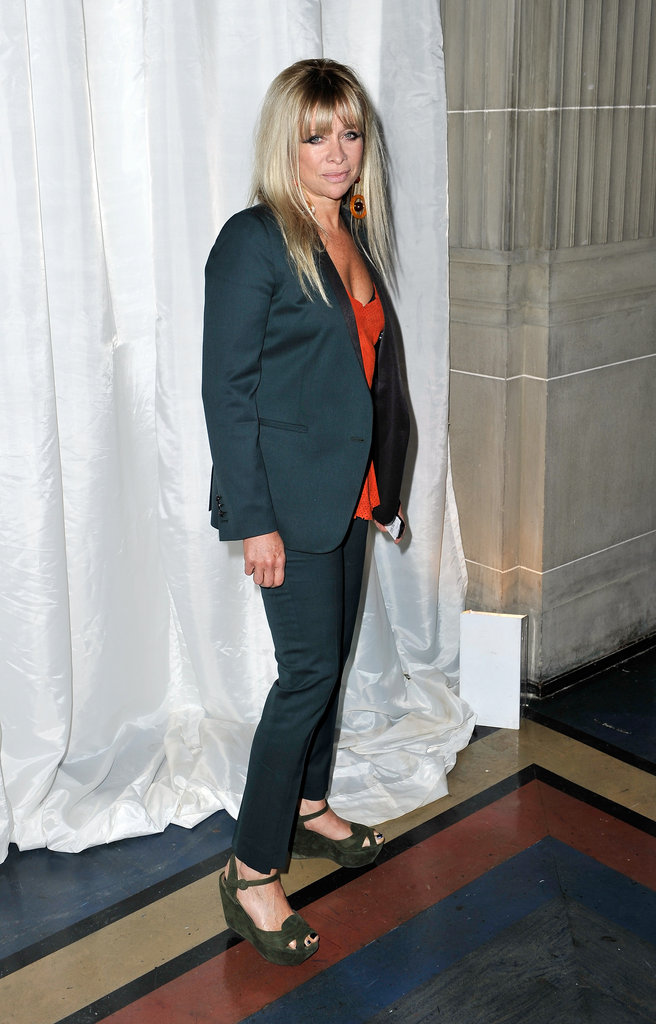 Jo Wood at Pam Hogg