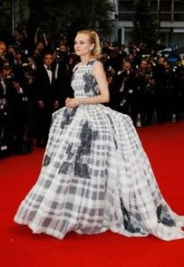 Joshua Jackson Cut Diane Kruger Out of Her Dress