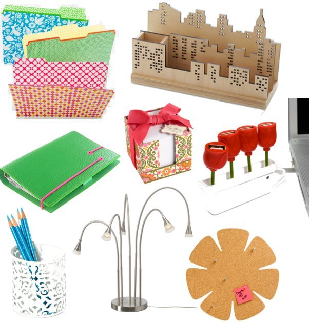 Stylish office supplies popsugar home for Trendy office supplies