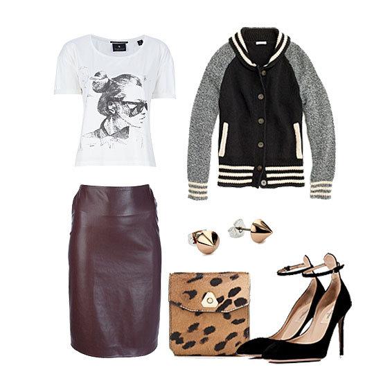 How to Wear a Varsity Jacket | Fall 2012