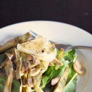 Warm Artichoke and Mushroom Salad