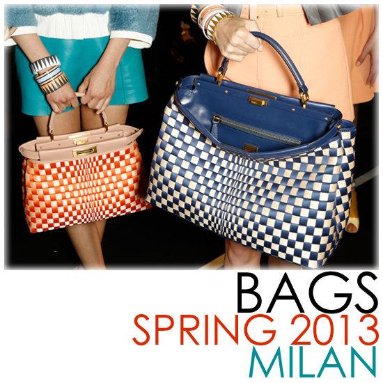 Bags From Milan Fashion Week Spring 2013 | Runways