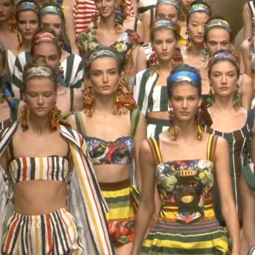 Dolce & Gabbana Spring 2013 Runway (Video)
