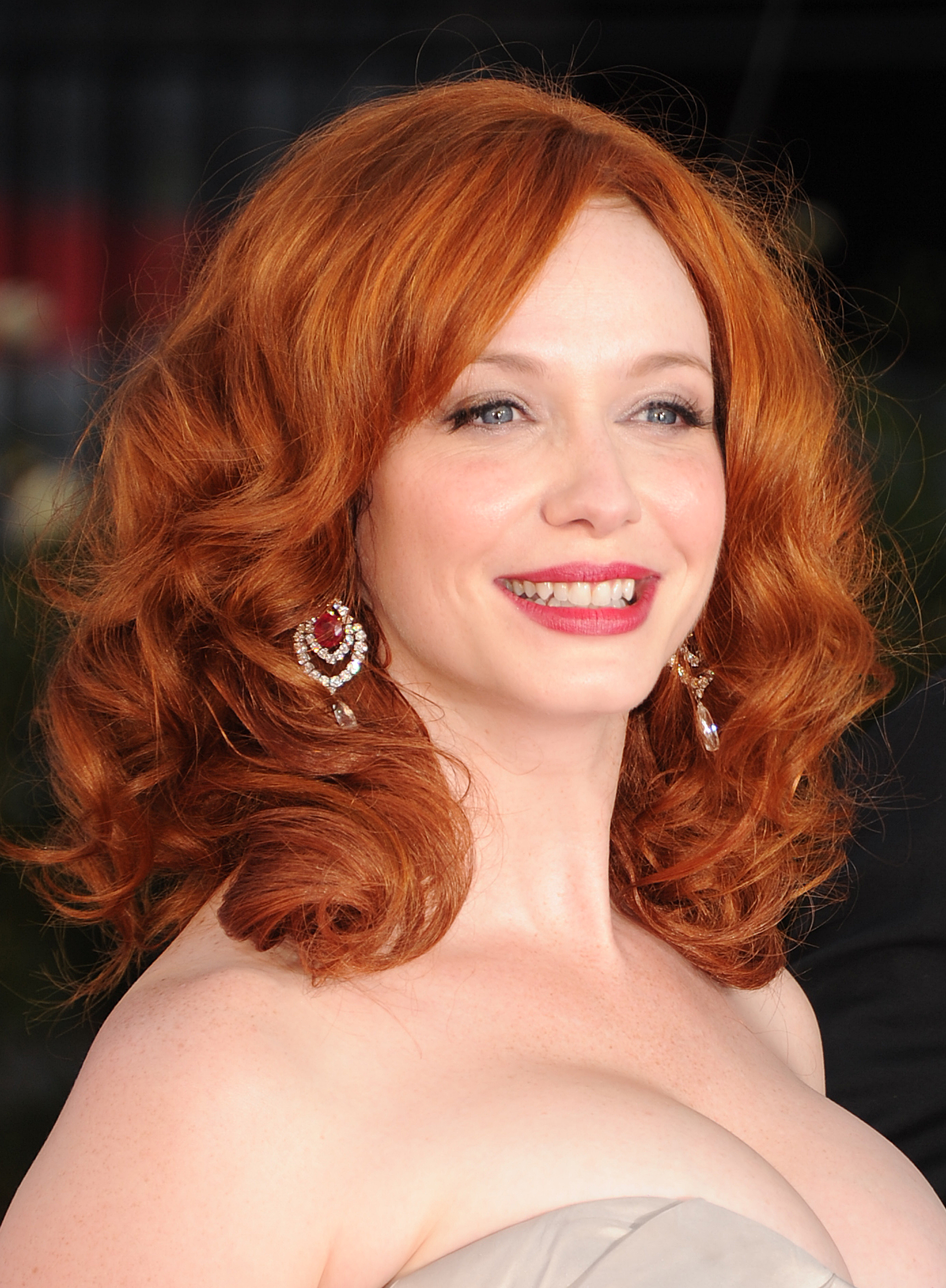 Christina Hendricks The Best Bags Baubles And Heels