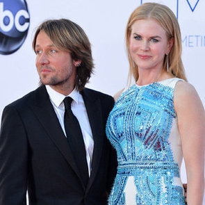 Nicole Kidman in Antonio Berardi Pictures at 2012 Emmys With Keith Urban