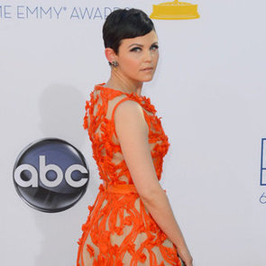 Ginnifer Goodwin Pictures at 2012 Emmys in Monique Lhuillier