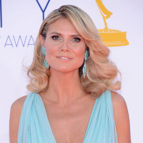 Picture of Heidi Klum's Hair and Makeup at the 2012 Emmy Awards