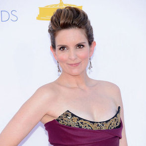 Picture of Tina Fey's Hair and Makeup at the 2012 Emmy Awards