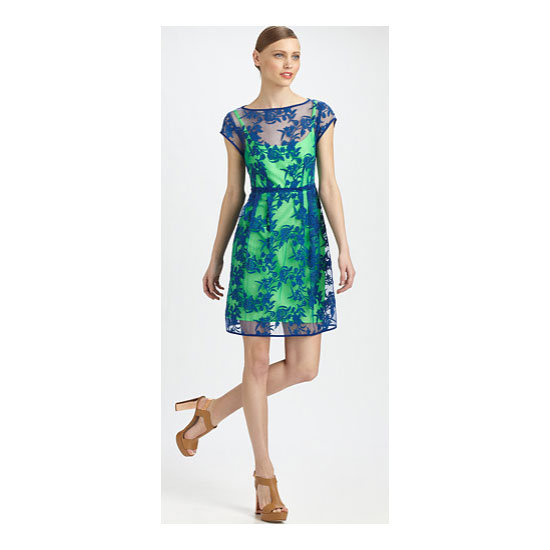 Dress, approx $405, Nanette Lepore at Saks Fifth Avenue