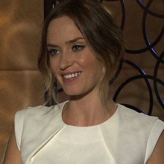 Emily Blunt Interview For Looper