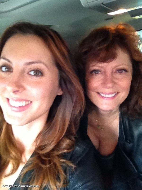 Eva Amurri Martino spent some quality time with her mum, Susan Sarandon. Source: Eva Amurri Martino on WhoSay