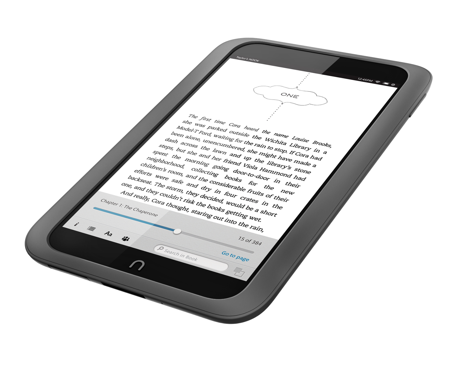Higher-resolution display — The Nook HD 1440 x 900 display bests Kindle Fire HD's 1280 x 800.