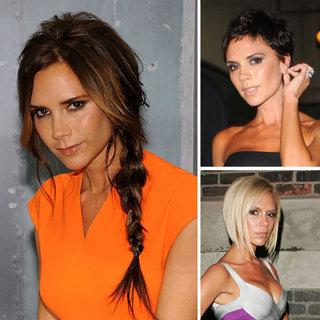 Victoria Beckham's 14th Anniversary: Best Hair Looks