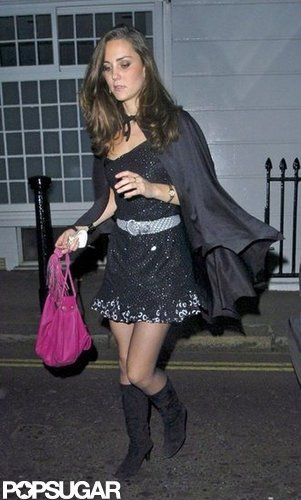 Kate Middleton went for a saucy costume out in London in 2007 years before she became the Duchess of Cambridge.