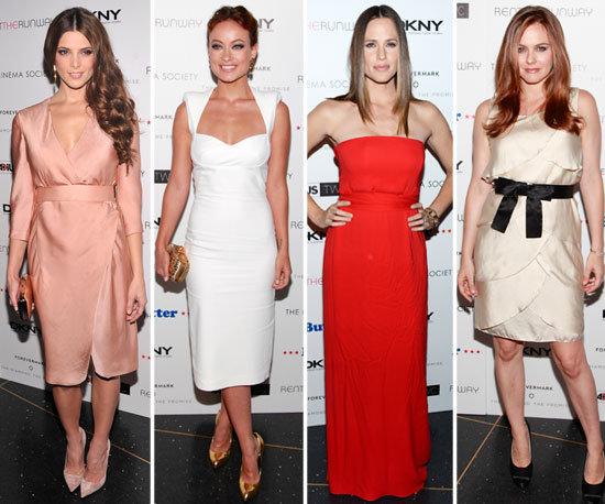 Jennifer Garner, Olivia Wilde, Ashley Greene And Alicia Silverstone at Butter Premiere