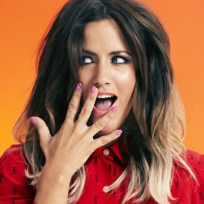 Caroline Flack Is the Face of Regis Salons UK