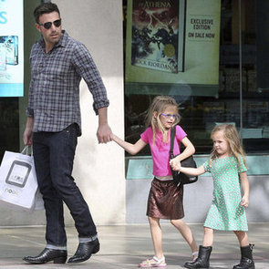 Ben Affleck With Daughters Violet and Seraphina Pictures