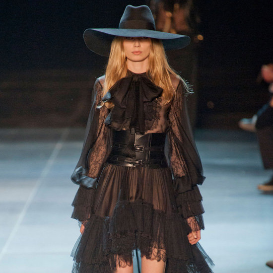 Saint Laurent Spring 2013 | Runway | POPSUGAR Fashion