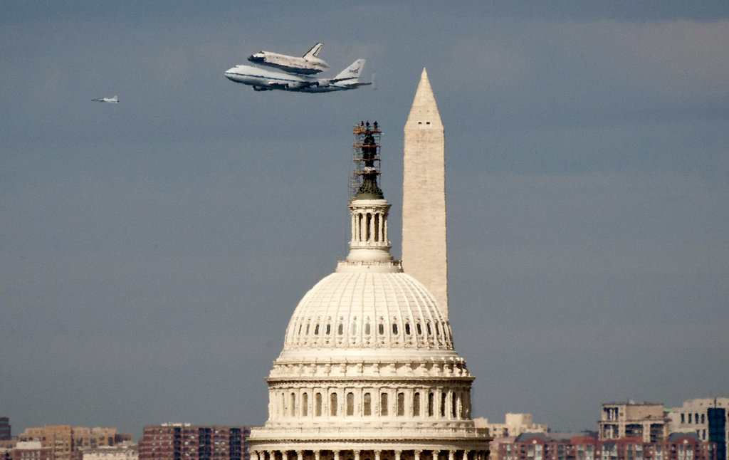 Space Shuttle Discovery Takes Its Final Flight