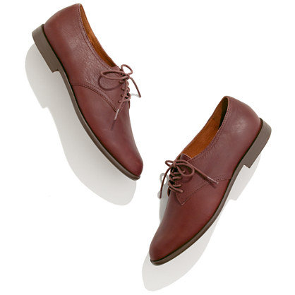 Madewell's Bookstall Oxfords ($165) have that classic borrowed-from-the-boys feel that'll look even better against cuffed boyfriend jeans.